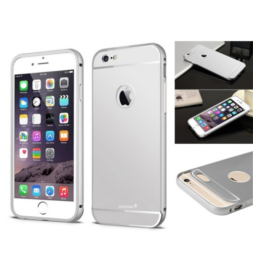 iPhone 6 case metal bumper w back case+Combo