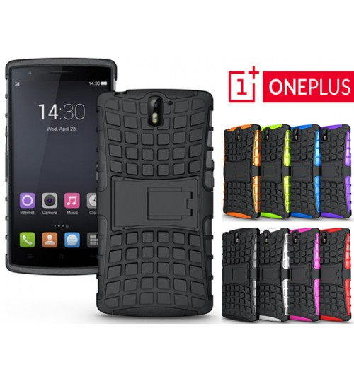 Oneplus one Case Heavy Duty Hybrid Kickstand+PEN