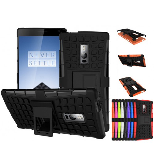 Oneplus 2 two Case Heavy Duty Hybrid Kickstand+PEN