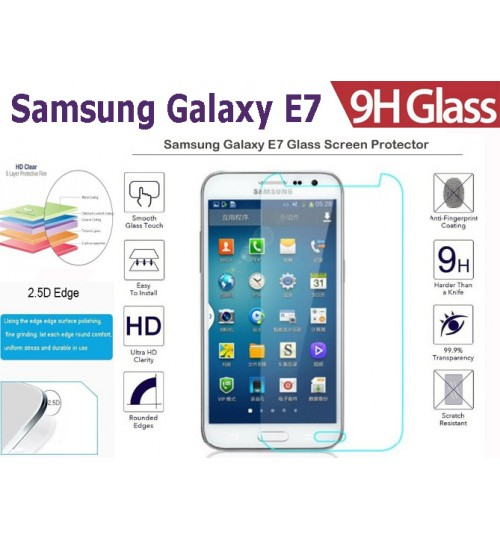 Galaxy E7 tempered Glass Protector Film Samsung