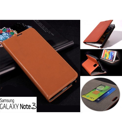 Samsung Galaxy Note 3 Case wallet leather