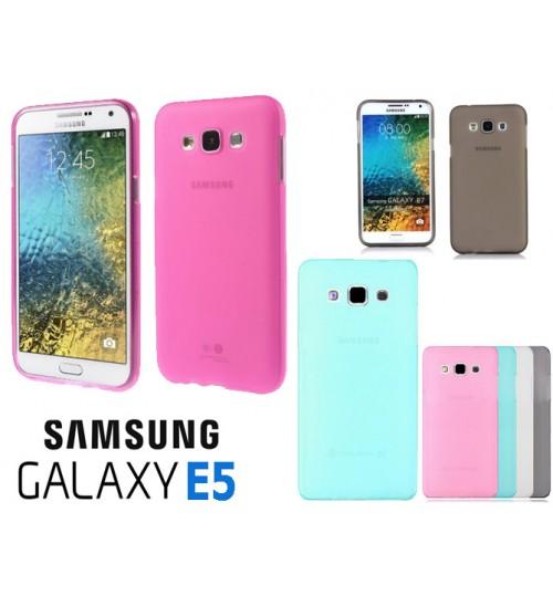 Samsung Galaxy E5 case TPU Soft Gel Case+Pen