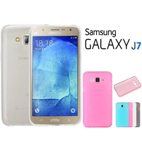 Samsung Galaxy J7 case TPU Soft Gel Case+Pen