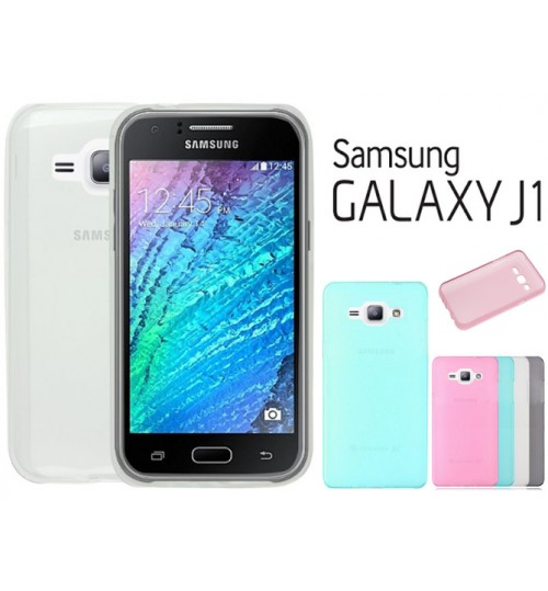 Samsung Galaxy J1 case TPU Soft Gel Case+Pen