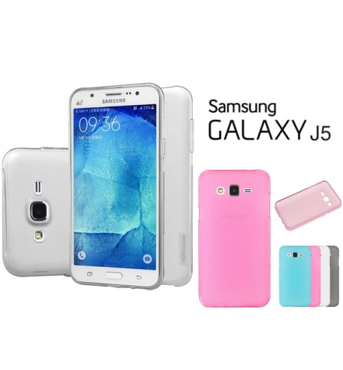 Samsung Galaxy J5 case TPU Soft Gel Case Pen