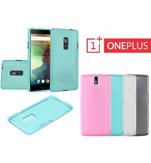 OnePlus case TPU Soft Gel Case+Pen
