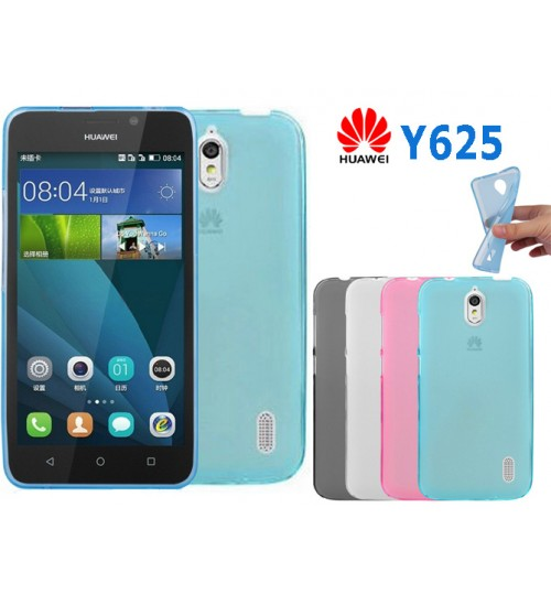 Huawei Y625 case TPU Soft Gel Case+Pen