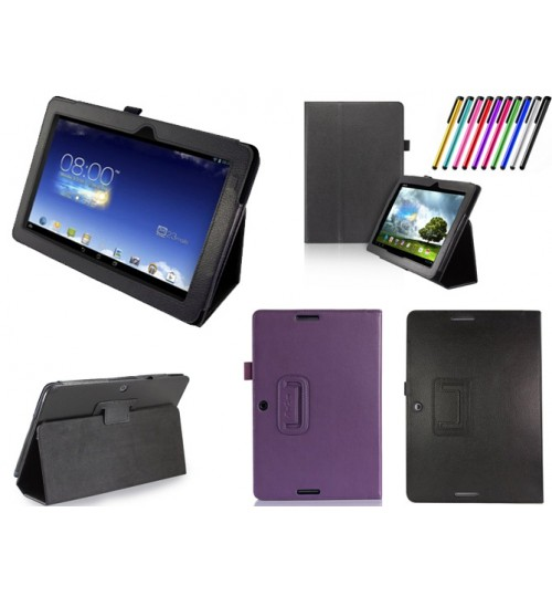 Asus Memo Pad 10.1 ME102 Tablet leather case+PEN