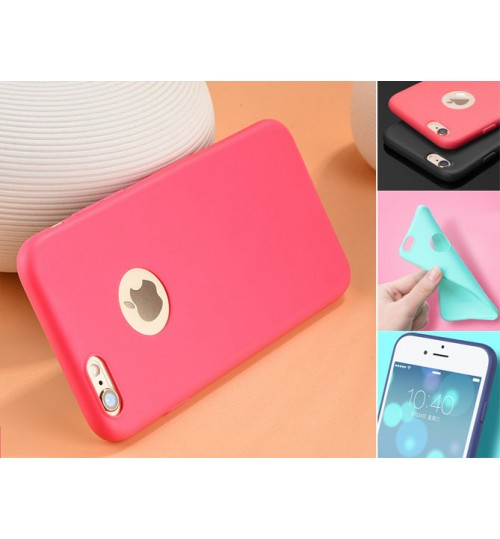 iPhone 6 6s Case slim fit TPU Soft Gel Case
