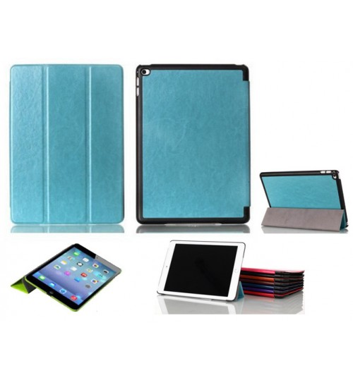 iPad Air 2 luxury fine leather smart cover case