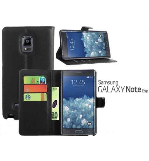 Samsung Galaxy Note Edge Case wallet leather case