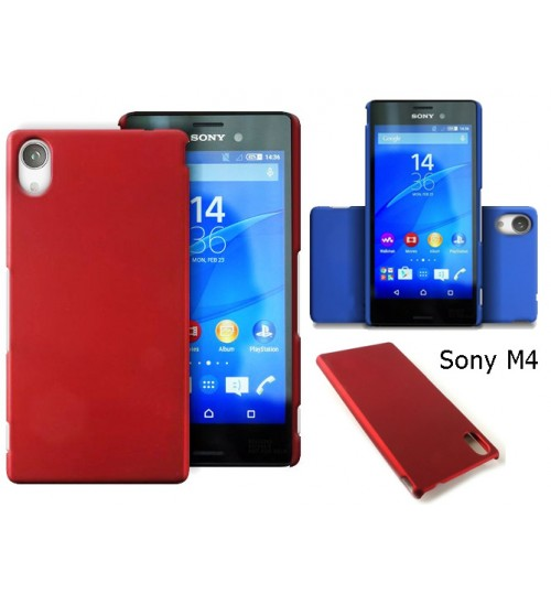 Sony Xperia M4 Aqua Slim hard case +Pen