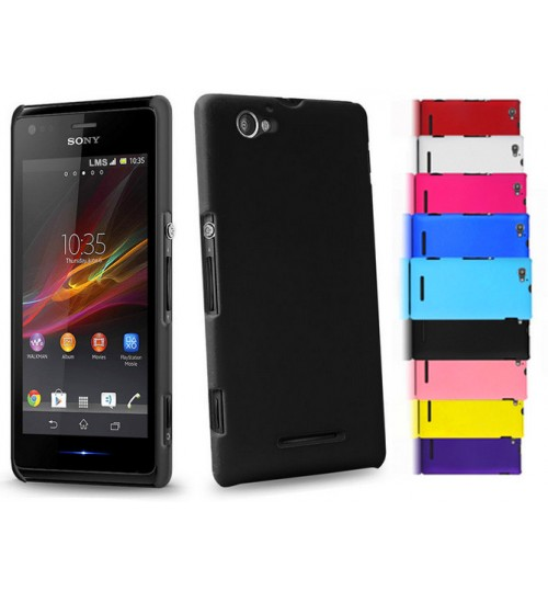 Sony Xperia M C1905 Slim hard case +Pen