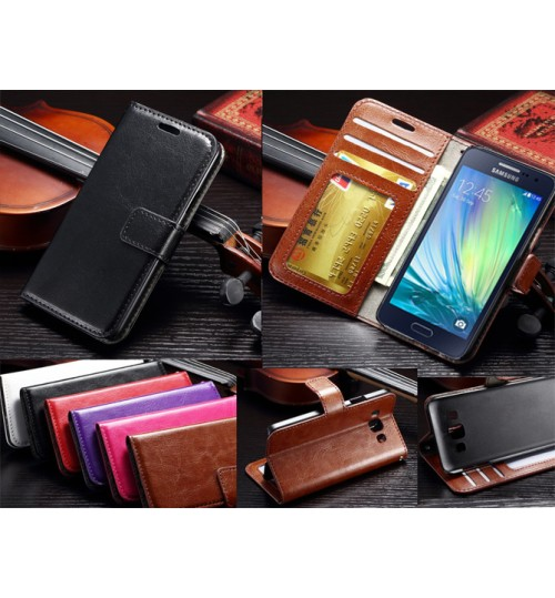 Samsung Galaxy A3 vintage fine leather case