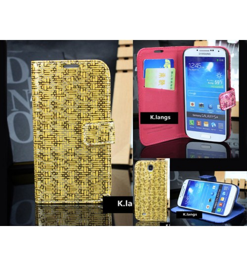 Samsung Galaxy S4 case luxury slim wallet case