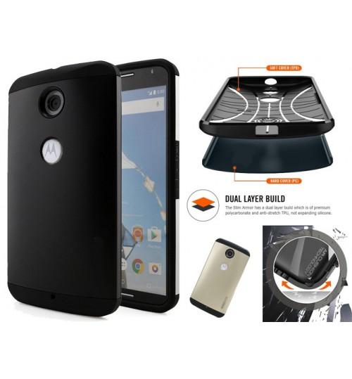 Google Nexus 6 impact proof heavy duty slim case