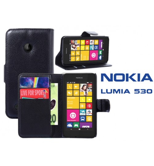 Buy Microsoft Lumia 530 Wallet Leather Case Nokia online ...