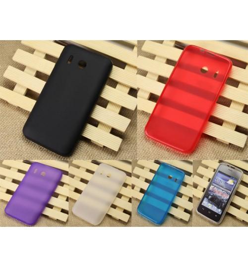 Huawei Y320 case TPU gel case cover+Pen