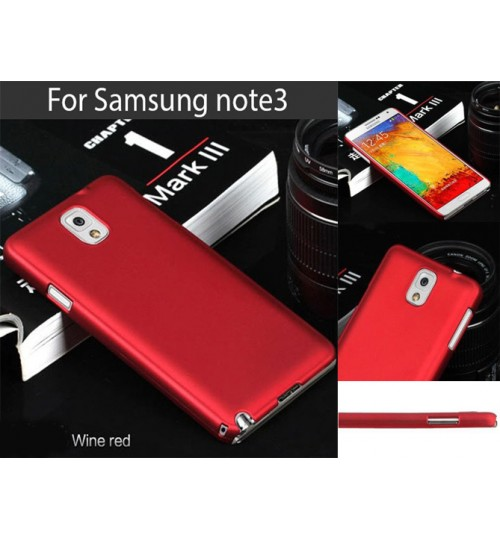 Samsung Galaxy Note 3 Slim hard case+SP+Pen
