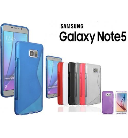 Samsung Galaxy Note 5 case TPU gel S line case