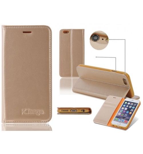 iPhone 5 5s SE case luxury slim flip case+combo