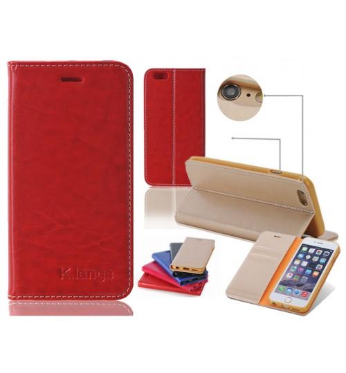 iPhone 5 5s case luxury slim flip case+combo