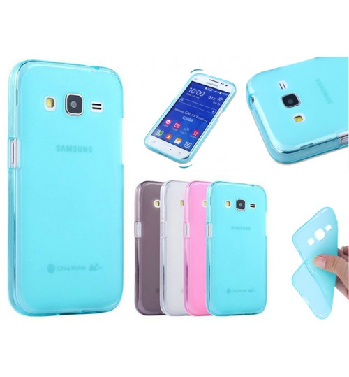 Samsung Core Prime case TPU Soft Gel Case+Pen