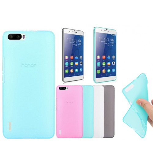 Huawei 6 Plus case TPU Soft Gel Case+Pen