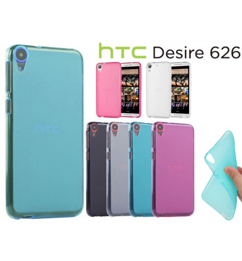 HTC desire 626 case TPU Soft Gel Case+Pen
