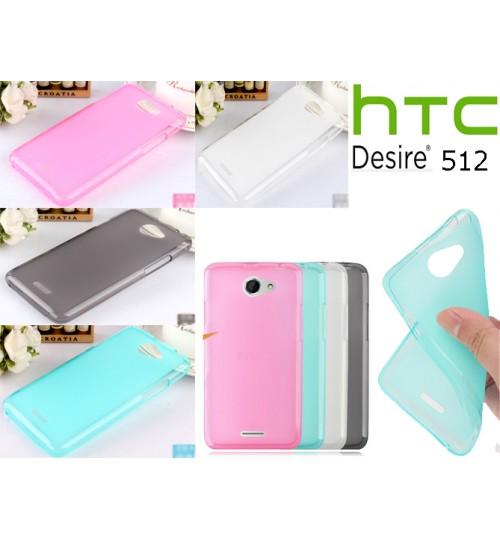 HTC desire 516 case TPU Soft Gel Case+Pen