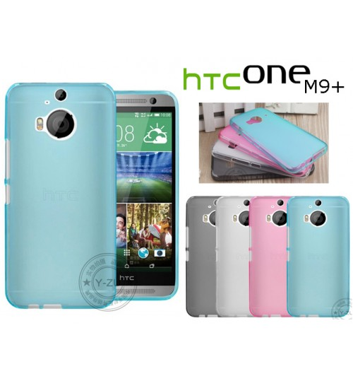 HTC One M9+ M9 plus case TPU Soft Gel Case+Pen