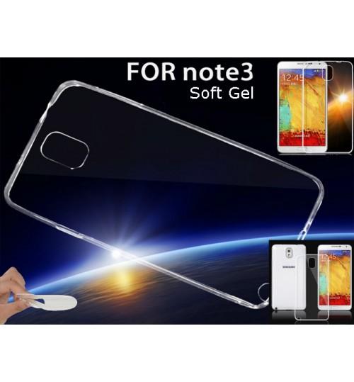 Galaxy Note 3 case clear gel Ultra Thin