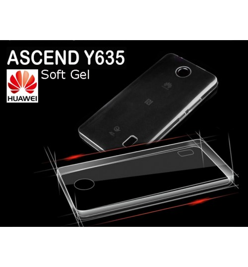 Huawei Y635 case clear gel Ultra Thin+Pen