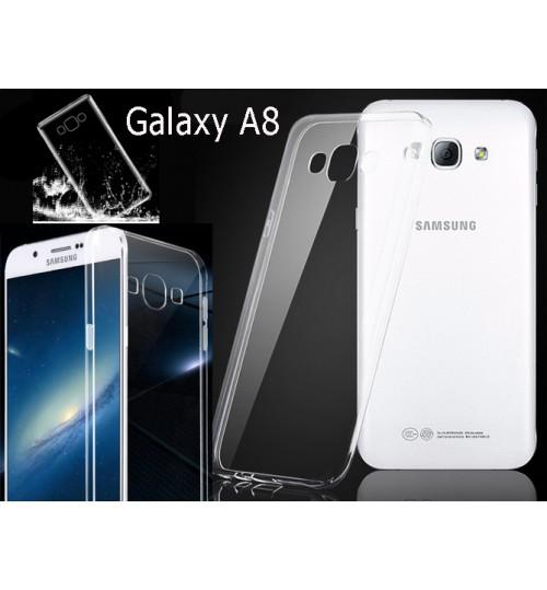 Samsung Galaxy A8 case clear gel Ultra Thin+Pen