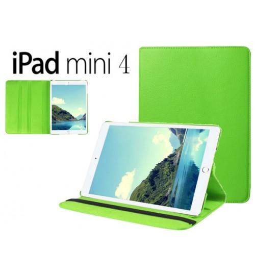 iPad Mini 4 Leather Flip Case+Pen