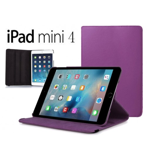 iPad Mini 4 Leather Flip Case+Pen