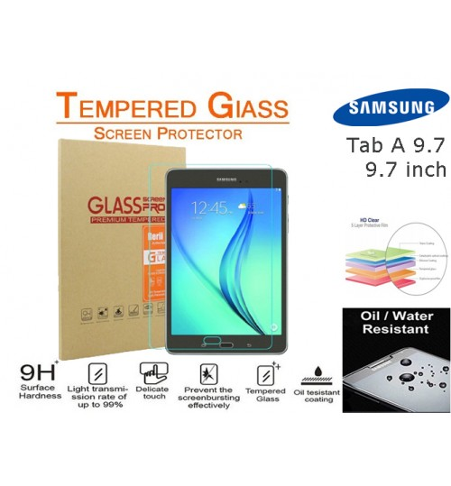 "Galaxy Tab A 9.7 "" Tempered Glass Screen Protector"