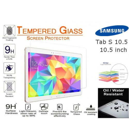 Galaxy Tab S 10.5 Tempered Glass Screen Protector