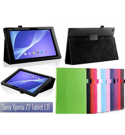 Sony Xperia Z2 Tablet  leather case+Combo