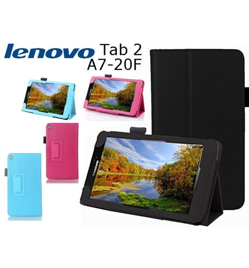 Lenovo Tab 2 A7-20 Tablet leather case+Combo
