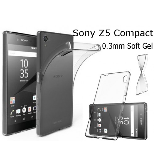 Sony Xperia Z5 Compact TPU Clear Gel Thin Case