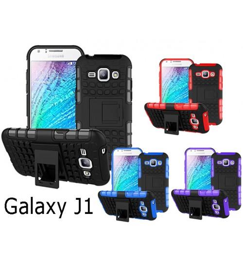 Galaxy  J1 Case Heavy Duty Hybrid Kickstand+Combo