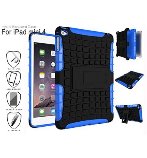 iPad mini 4 case impact proof HV duty kickstand
