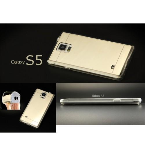 Samsung Galaxy S5 Soft Gel TPU Mirror Case