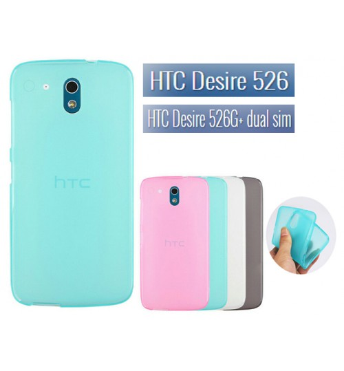HTC Desire 526 526G+ TPU Soft Gel Case+Pen