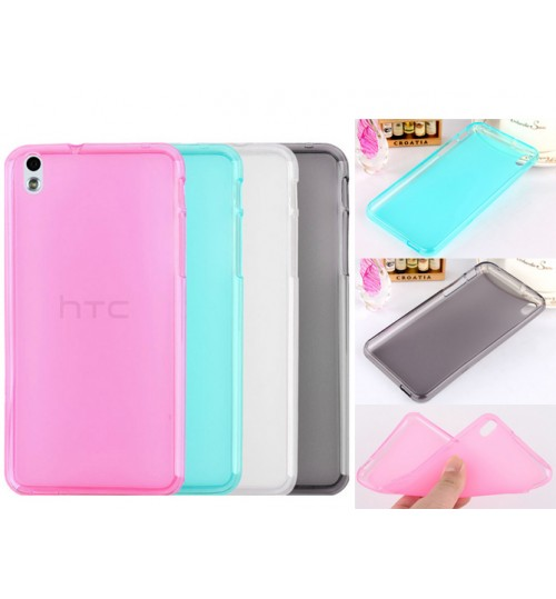 HTC Desire 816 Dual SIM TPU Soft Gel Case+Pen