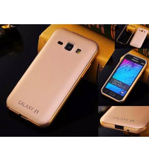 Samsung Galaxy J1 Slim Metal bumper w back case