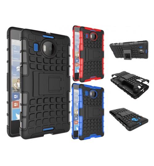 Nokia Lumia 950XL Heavy Duty Hybrid Kickstand Case