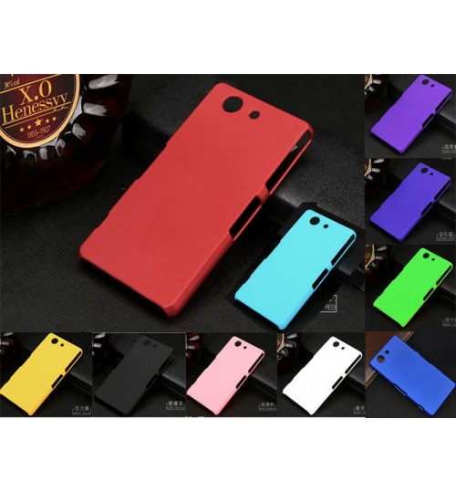 Sony Xperia Z3 Compact Slim hard case cover +Pen