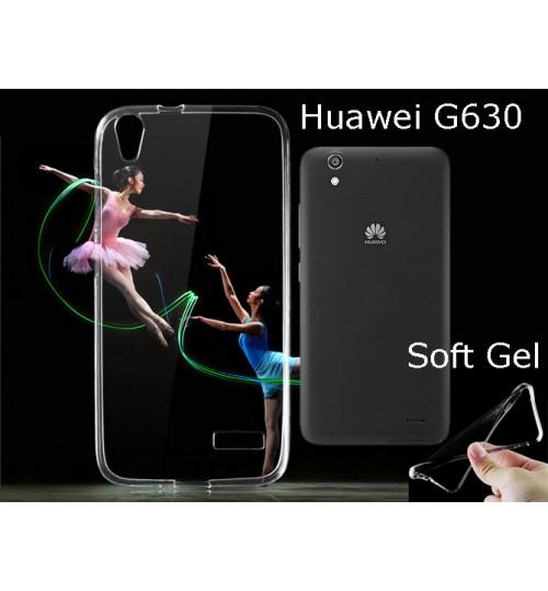 Huawei G630 case clear gel Ultra Thin